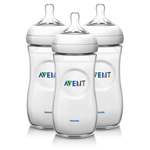 """Avent SCF696/27, The Philips Avent SCF696-27-37 is set of natural baby bottles designed for an enjoyable and easy feeding experience"